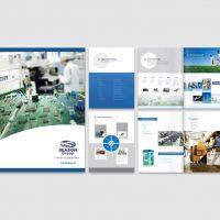 Electronics Company Brochures Design and Printing