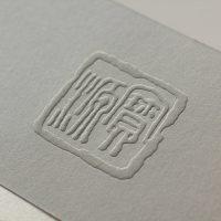 Jewellery Company Business Card Design closeup