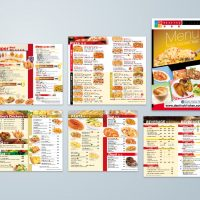 Food Menu Design and Printing