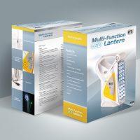 Computer Company LED Lamp Box Packaging Design and Printing