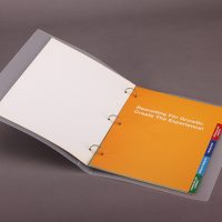Chemistry Company PP Plastic Box File Design and Printing