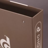 Button Company Ring Binder Design and Printing