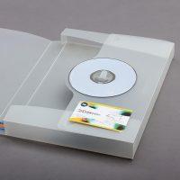 Oil Company PP Plastic Box File Design and Printing