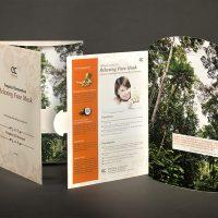 美容護膚產品公司的宣傳咭設計及印刷 Skin Care Company Flyer Design and Printing
