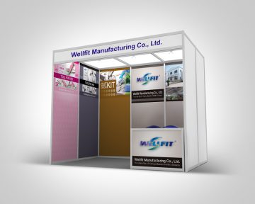 廚具公司展覽攤位設計及印刷 Kitchenware Company Exhibition Booth Design and Printing