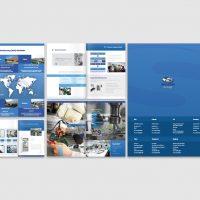 電子產品企業的型錄設計及印刷 Electronics Company Brochures Design and Printing