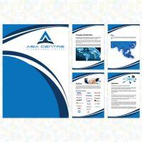 科技公司的型錄設計及印刷 Tecnologic Company Brochures Design and Printing