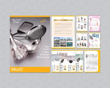 廚具公司型錄設計及印刷 Kitchenware Company Catalogue Design and Printing