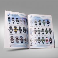 手錶公司型錄設計及印刷 Watch Company Catalogue Design and Printing