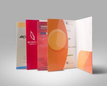 Folder文件夾設計及印刷 Folder Design and Printing