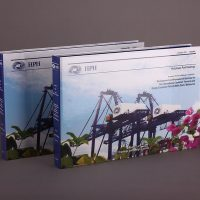 貨櫃公司的紙活頁文件夾印刷及設計 Port Company Paper Ring Binder Design and Printing