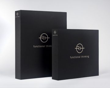 服裝公司的布活頁文件夾印刷及設計 Garment Company Fabric Ring Binder Design and Printing