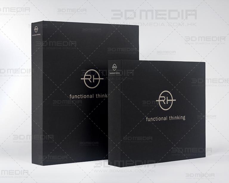 服裝公司的布活頁文件夾印刷及設計 Garment Company Fabric Ring Binder Design and Printing