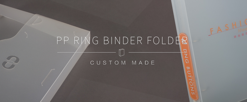 pp ring binder pp file folder printing 3d media