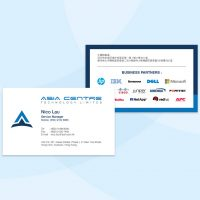 科技公司的咭片設計及印刷 technologies Company Business Card Design and Printing