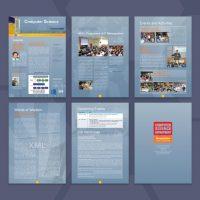 大學的Newsletter設計及印刷 University Newsletter Design and Printing