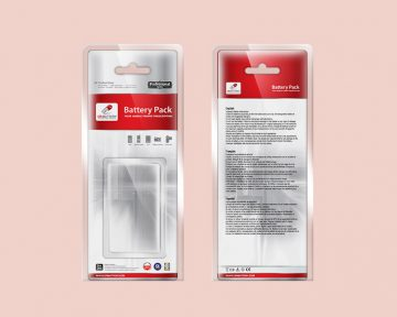 電池公司的吸塑咭包裝設計印刷 Battery Company Blister Card Packaging Design and Printing