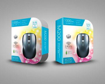 電腦用品公司的滑鼠包裝盒設計 Computer Company Mouse Box Packaging Design and Printing