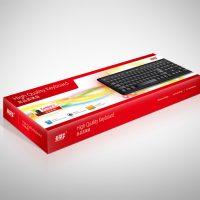 電腦用品公司的鍵盤包裝盒設計及印刷 Computer Company Keyboard Box Packaging Design and Printing
