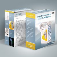 電腦用品公司的LED燈包裝設計印刷 Computer Company LED Lamp Box Packaging Design and Printing