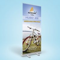 單車公司的易拉架設計及製作 Bike Company Roll Up Banner Design and Printing